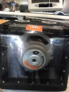 "JBL 10"" Subwoofer + 200w Pioneer Amp"