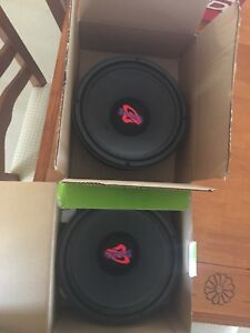 """10"""" inch super omega subs with legacy amp"""