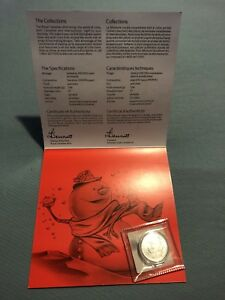 ROYAL CANADIAN MINT 20 DOLLAR PURE SILVER LIMITED EDITION COIN