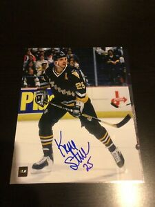 Pittsburgh Penguins Kevin Stevens autographed picture