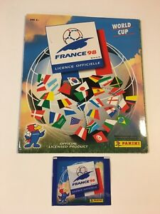1998 Panini France Sticker Album Complete