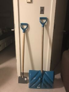 Snow shovel and Ice pick set