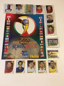 2002 World Cup stickers set