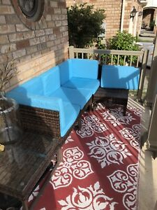 Sectional patio. New.