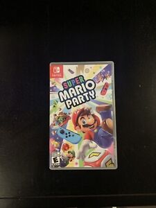 Super Mario party for Nintendo switch!!