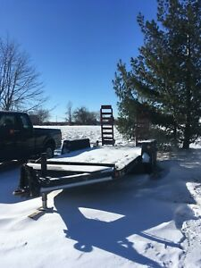 7 Ton Flat Bed Trailer FORSALE
