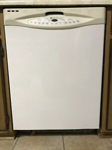 White Maytag Builtin Dishwasher