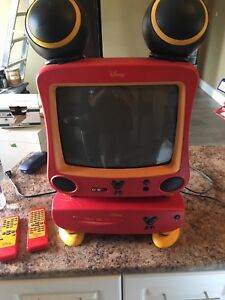 Disney Mickey Mouse TV and DVD player-$45