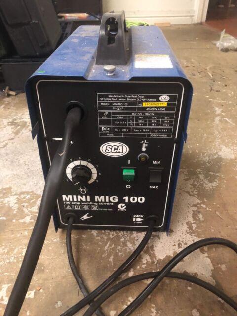 Sca 100 amp mig welder