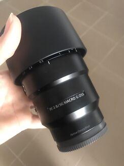 Sony FE 90mm f/2.8 G OSS macro lens