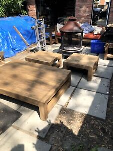 Coffee table outdoor furniture