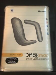 Microsoft Office for Mac 2004