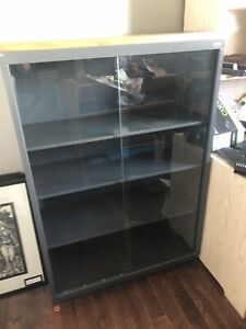 Glass Business Showcase Cabinet