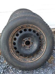Steel Wheels off 2010 Malibu