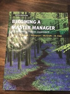 Livre becoming a master manager