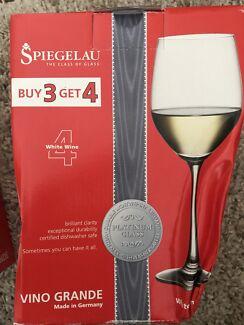 Spiegelau white wine glasses set of six