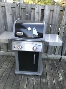 6 month old Webber bbq with tank