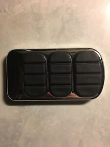 Crome pedal cover