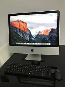 Apple iMac 24-inch, Intel Core 2 Duo, 1TB HDD, 6GB RAM Mascot Rockdale Area Preview