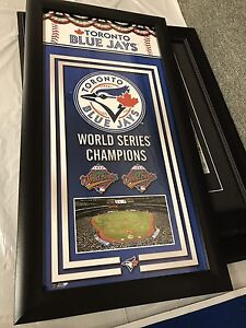 Toronto Blue Jays stuff at the Collins Bay Collectable Market