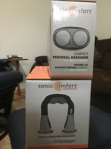 Sonic comfort theraplus neck and back massagers