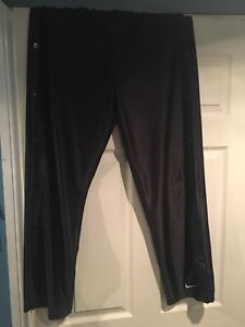 Vintage Nike pants black tearaways