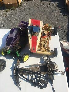 Electric RC lot