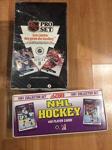 Cartes de hockey 91-92