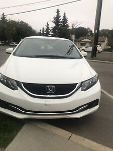 Need gone ASAP! 2015 Honda Civic manual