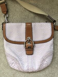 COACH CROSS BODY- Authentic and in very good condition!
