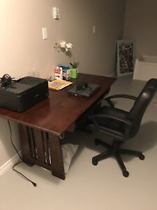 Costco computer desk and chair - best offer