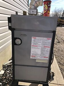 Slantfin boiler