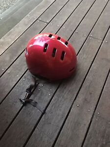 Helmet- cherry colour Brunswick West Moreland Area Preview