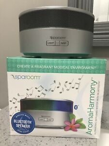 Aroma Harmony Oil Diffuser Mister with Bluetooth