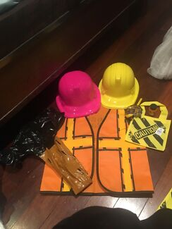 Construction birthday party themed