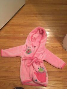Baby Girl Bathrobe