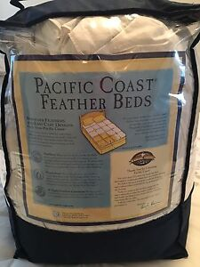 Feather bed.