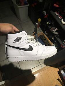 Air Jordan 1 Yin Yang White sz10