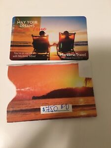 **SOLD - PPU*** Maritime Travel Gift Card