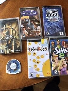 PSP GAMES  (10 years old)