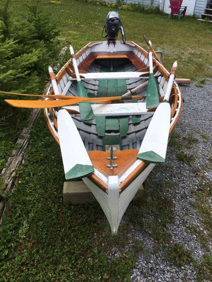 14 Ft Wooden Boat With Yamaha 4 Stroke