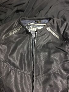 Icon Anthem lined textile motorcycle jacket (great condition).