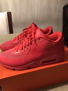 """Nike airmax 90 hyperfuse """"solar red"""""""