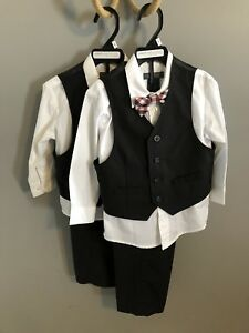 Two 4-Piece Boys Suits