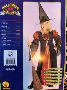 Witch Hallowe'en Costume – Size 8-10