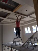 Perfect quality drywall boarding , bulkheads & duct covering