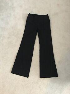 Women's black dress pants, size 3