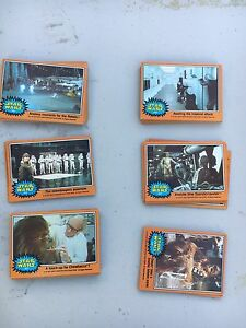 STAR WARS VINTAGE 1977 TRADING CARDS Success Cockburn Area Preview