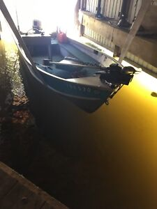 Blue fishing boat and Trailer REDUCED!!