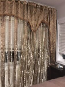 These are curtains for $100